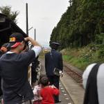 羽前成田から荒砥まで乗って山形鉄道フラワー長井線を完乗する 元気が出る鉄道写真2011の旅 その8