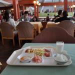 湯畑横の茶房ぐーてらいぜでエビピラフを食す 春の草津温泉旅行 その19