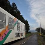 どこまでも魅力的な山形鉄道の羽前成田駅 元気が出る鉄道写真2011の旅 その12