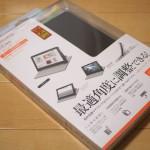 NTTドコモの10.1インチタブレット dtabに装着するエレコムのソフトレザーカバーを購入してみた