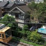 【Tokyo Train Story】都電荒川線の線路際にある蔵