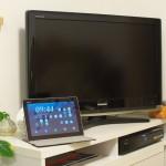 NTTドコモのWi-Fi専用10.1タブレットのdtabの画面をHDMIケーブルを使ってテレビ出力させてみた