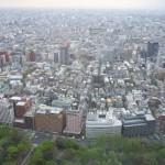 東京都庁の展望室からどこまでも広がる東京の街を見下ろしてみた!