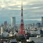 クリスマス色の展望台から東京タワーを眺める 浜松町散歩 その4
