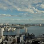 世界貿易センタービル40階展望台から新幹線や東京モノレールを俯瞰する 浜松町散歩 その3