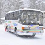湯西川温泉のかまくら祭のメイン会場で大きなかまくらを見学する 冬の鬼怒川温泉への旅 その4