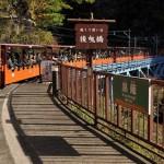 トロッコ列車で紅葉が始まりつつある黒部渓谷を堪能する 初秋の北陸旅 その8