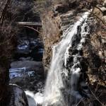 龍王峡散策コースにある虹見の滝で虹を見た! 冬の鬼怒川温泉への旅 その12