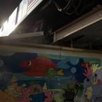 【Tokyo Train Story】ガード下の壁画(東急大井町線)