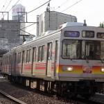 【Tokyo Train Story】荏原町駅を出る東急大井町線