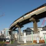 【Tokyo Train Story】東京モノレールのカーブ