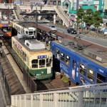 坂の町長崎で長崎市電を撮る 長崎旅行 その24