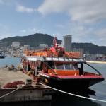 廃墟の聖地、軍艦島へと出航する 長崎旅行 その5