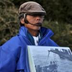 軍艦島の光と影のお話をガイドさんから聞く 長崎旅行 その8