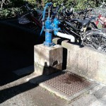 大塚公園にある井戸
