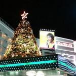 池袋東口広場のクリスマスイルミネーション