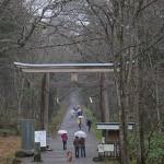 戸隠神社の奥社に参拝し、諏訪湖畔の岡谷へ移動する 紅葉の長野旅行 その13