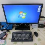 マウスコンピューターのLuvBook LB-S210SにLGの23インチモニターIPS235V-BNを接続してみた