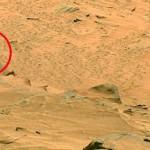 NASAからの火星画像に人型の岩がある件についての一考察