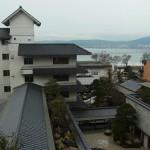諏訪湖畔にあるホテル鷺乃湯の大浴場と露天風呂 冬の諏訪湖への旅 その5