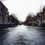 アムステルダムの運河を水上バスで巡る ヨーロッパ旅行2000 その3