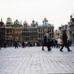 ベルギーのグラン・プラス広場などの観光ポイントを見学する ヨーロッパ旅行2000 その5