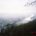 ルクセンブルグの美しい風景を高台から眺める ヨーロッパ旅行2000 その7