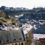 ルクセンブルグの王宮衛兵と教会と砲台跡 ヨーロッパ旅行2000 その8