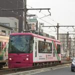【Tokyo Train Story】都電が自動車と並走する区間