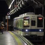 【Tokyo Train Story】夜の東武大師線大師前駅にて