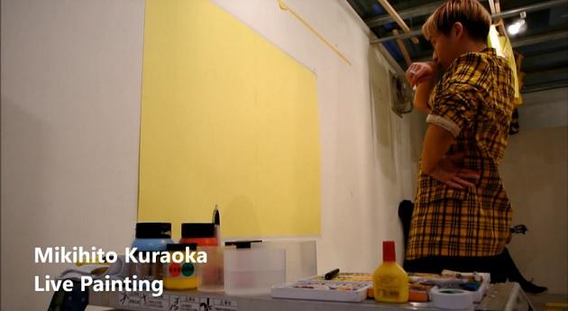 倉岡未來人君によるライブペンディング動画 絵が少しずつ完成されていく様子をぜひ見て欲しい!