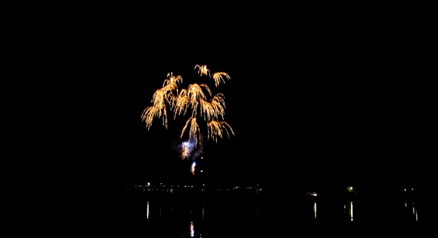 足立区の舎人公園で開催された「春の花火と千本桜まつり」 春の夜空に広がる迫力満点の花火を動画で御覧ください!