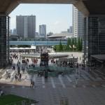 【Tokyo Train Story】東京ビックサイトの中からゆりかもめを望む