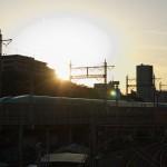 【Tokyo Train Story】夕焼け空を背景にして走るE5系東北新幹線