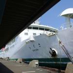 四国の八幡浜から九州の別府へと宇和島運輸フェリーに乗船した! 『四国・九州温泉巡りの旅』 その14