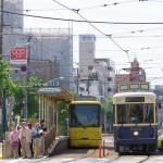 【Tokyo Train Story】レトロと黄色の並び(都電荒川線)