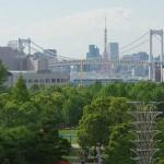 【Tokyo Train Story】ゆりかもめのテレコムセンター駅からの眺め