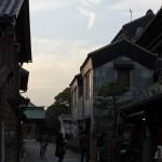 日没前後の川越の町の風景 『川越路地裏散歩2014』 その6(最終回)