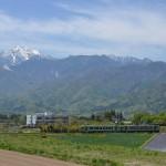 小淵沢駅周辺で小海線の撮影をしてみた! 『春の小淵沢路地裏散歩』 その4