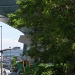 【Tokyo Train Story】高架下の新緑(ゆりかもめ)