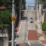目白通り沿いにある「のぞき坂」「富士見坂」「日無坂」の坂がある風景を撮影する 『雑司ヶ谷フォトウォーク2014夏』 その2