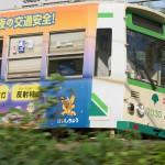 【Tokyo Train Story】緑の中、都電が疾走する