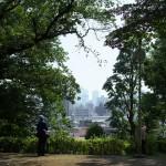 目白台の崖沿いにある文京区立目白台一丁目遊び場の緑が暑さを忘れさせてくれた 『雑司ヶ谷フォトウォーク2014夏』 その3