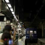 【Tokyo Train Story】あけぼのが走る夏 推進運転で上野駅13番線ホームへ