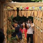 日没間際の川越氷川神社の縁むすび風鈴 『真夏の川越散策』 その8