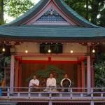8月7日は川越氷川神社の七夕祭。その開始直前の境内をレポートします『真夏の川越散策』 その10