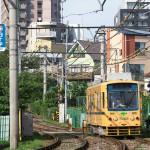 【Tokyo Train Story】東池袋付近の都電荒川線の風景