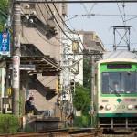 【Tokyo Train Story】地面すれすれから都電を狙う