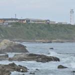 荒々しい波を間近に見ることができる犬吠埼遊歩道を灯台に向かって歩く『夏の青春18きっぷの旅 銚子路地裏散歩編』 その8