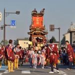 川越氷川神社の鳥居横にある櫓で踊る子供ひょっとこが最高にかわいかった 『平成26年度川越まつり』 その4 #川越まつり